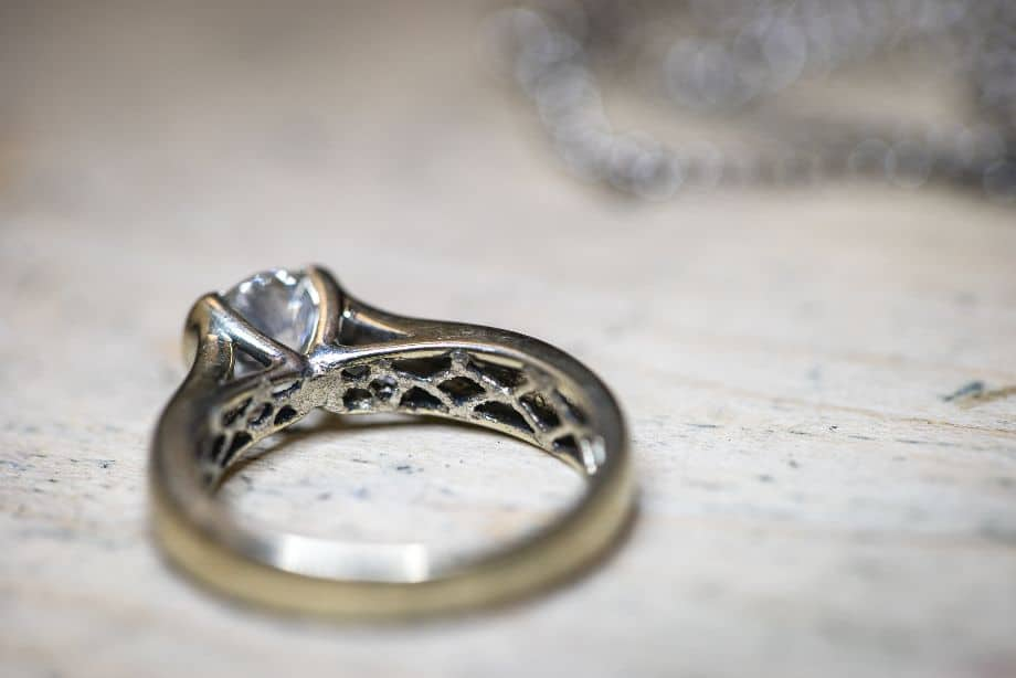 925 Silver ring that is made of 925 Sterling Silver