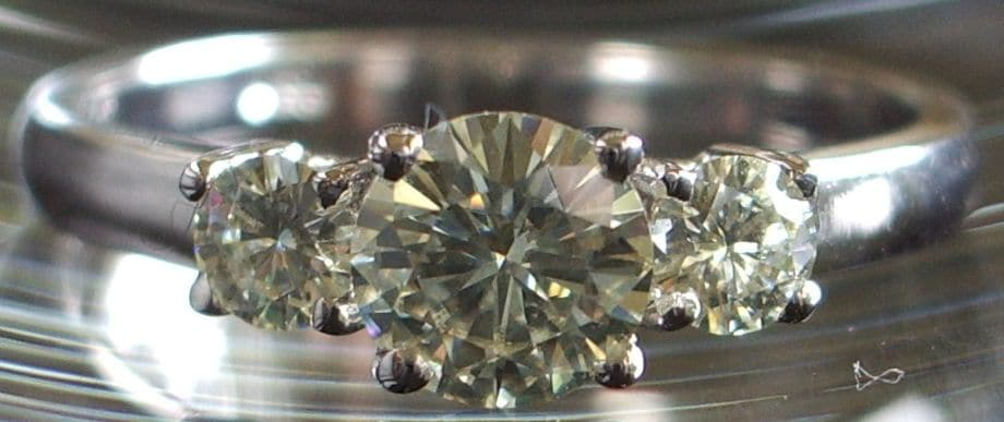 Moissanite with Yellow Hue