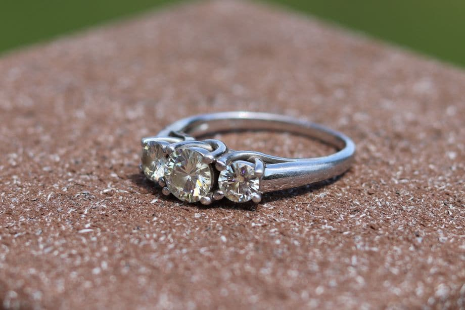 Why Moissanite Sometimes Looks a Little Yellow