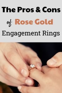 Pros and Cons of Rose Gold Engagement Rings