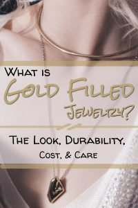 Woman Wondering, What is Gold Filled Jewelry?